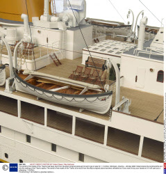 The world's first model of the Titantic has been built from the ship's original plans and is set to go on sale for