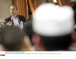LILLE : Pro palestinian meeting at Lille mosque