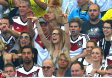 Brazil 2014: WAGs France Germany