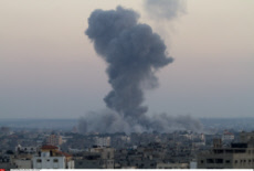 Gaza Conflict Escalates after Israeli airstrike