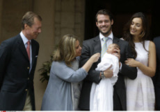 France Luxembourg Baptism