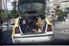 The residents of Beit Hanoun were warned by the Israeli military to evacuate from their homes