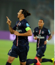 Beijing PSG vs Guingamp in the French season-opening Champions Trophy football match i