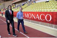 Monaco vs Lille French League 1 football match in Monaco