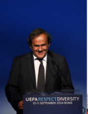 Football: UEFA Respect Diversity Conference