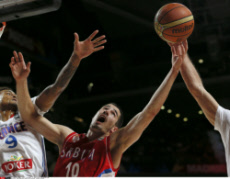 FIBA Basketball World Cup semifinal- Serbia V France