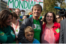PARIS: Demonstration against climate change