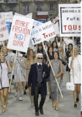 PARIS ready to wear fashion show in Chanel