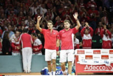 Lille Doubles at Tennis Davis Cup 2014 final