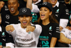 F1 Lewis Hamilton World Champion