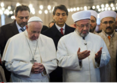 Pope Francis in Istanbul