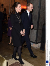 Prince William and Catherine Duchess of Cambridge visit to New York, America - 09 Dec 2014