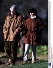 Jeffrey Epstein and Guests on a Pheasant Shoot with Prince Andrew, Sandringham, Norfolk, Britain - 08 Dec 2000