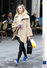 Fearne Cotton out and about, London, Britain - 26 Jan 2015