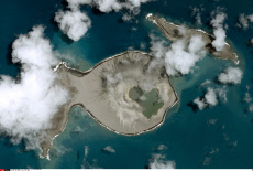 New Pacific island off Tonga