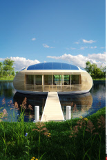 WaterNest 100, the floating house of the future