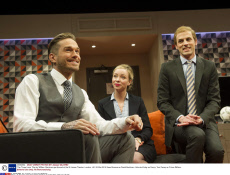 'The Three Lions' Play by William Gaminara performed at the St James Theatre, London, UK, 25 Mar 2015