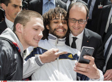 Selfies with President Hollande