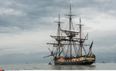 Departure of the frigate Hermione