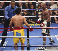 Floyd Mayweather Jnr v Manny Pacquiao