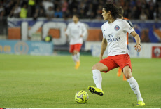 MONTPELLIER: French league one soccer match Montpellier vs. PSG