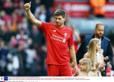 Barclays Premier League 2014/15 Liverpool v Crystal Palace Anfield, Anfield Rd, Liverpool, United Kingdom - 16 May 2015