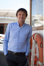 PARIS: Press conference of Nicolas Hulot