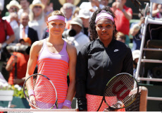 France Tennis Open Women's singles final Williams v Safarova