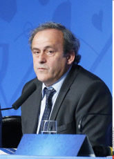 France EURO 2016 press conference with Michel Platini
