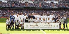 Madrid Charity match 'Corazon Classic match' Real Madrid v Liverpool