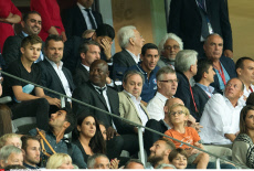 Lille: French L1 football match, Lille and PSG, Celebs.