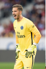 Lille: French L1 football match, Lille and PSG, PSG's player Kevin Trapp.