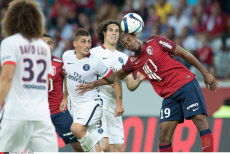 Lille: French L1 football match, Lille and PSG.
