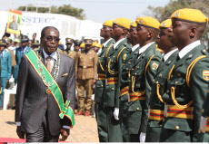 Zimbabwe : Harare, Heroes Day commemorations