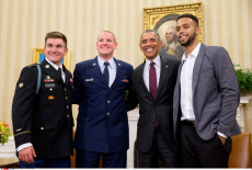 Heroes Thalys at White House