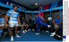 IRB Rugby World Cup 2015 Pool Stage Pool C Argentina v Tonga King Power Stadium, Filbert Way, Leicester, United Kingdom - 4 Oct 2015