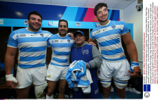 RWC 2015 Maradona back in UK