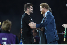 UK: 2015 Rugby World Cup - Final: New Zealand vs. Australia Prince Harry
