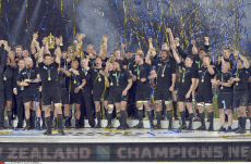 All Blacks make history by retaining Rugby World Cup