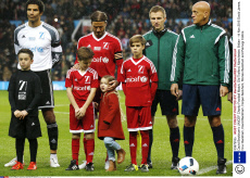 David Beckham's UNICEF Charity Football Match, Old Trafford, Manchester, Britian - 14 Nov 2015