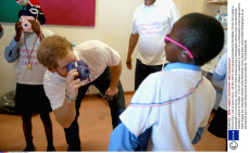 Prince Harry visit to South Africa - 26 Nov 2015