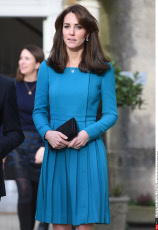 UK: The Duchess of Cambridge visits the Action on Addiction Centre for Addiction Treatment Studies