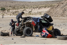 Loeb Accident