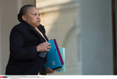 French Minister of Justice Christiane Taubira resigns  on 27/01/2016.