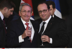 State dinner for Raul Castro