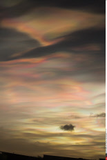 Stunning Nacreous Clouds Across North East England