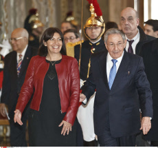 Raul Castro official visit to France