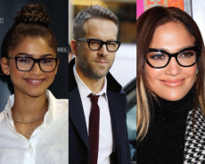 Celebrities looking chic in glasses
