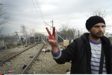 Migrants: Greece Macedonian border