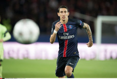 Paris: UEFA Champions League football match between PSG and Manchester City, Celebs